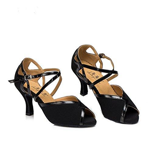 Salsa De Baile Blando Zapatos Latino S Baile Tacones Zapatos De C Zapatos Salón De Mujer Baile De GUOSHIJITUAN Fondo Fwq7S1F
