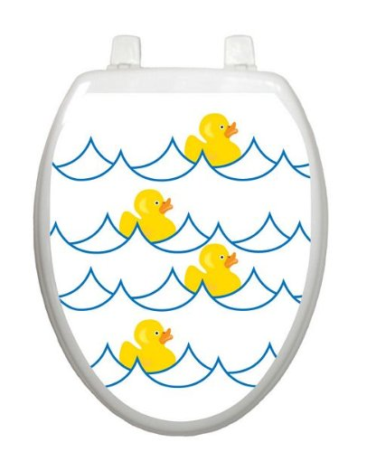 Rubber Ducky White TT-4000-O Elongated Whimsical Cover Bathroom