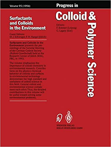 Surfactants and Colloids in the Environment (Progress in Colloid and Polymer Science)
