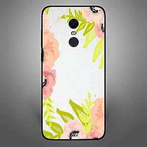 Xiaomi Redmi Note 5 Floral peach pink