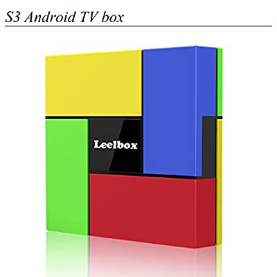 [2017 Latest]Leelbox S3 Android 6.0 TV Box 2G Memory 16G EMMC S912 Octa-Core CPU LAN 1000M Dual-WIFI 2.4/5.0GHz Bluetooth 4.0 Mali-T820MP3 GPU Streaming Media Player