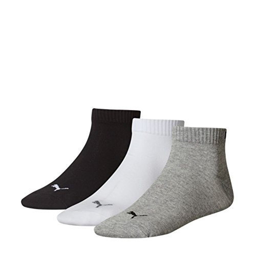 Grey Unisex White Black Da 882 Calzini Pacco Quarters Sport 6 rYPYSHq7