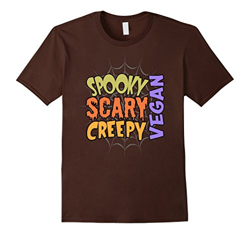 Ideas For A Last Minute Halloween Costume (Mens Vegan Lazy Last Minute Halloween Costume Shirt Medium Brown)