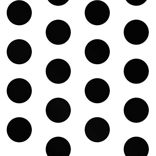 - Big Dots Polka Dot Wallpaper Black/White A617 CAO 2