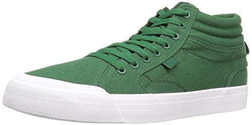 DC Men's Evan Smith Hi Skateboarding Shoe, Dark Green, 11.5 M US