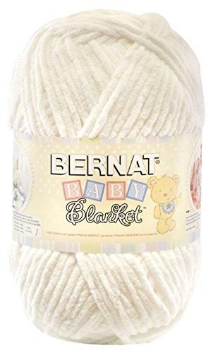 Bernat Baby Blanket Yarn, 10.5 Ounce, White, Single Ball