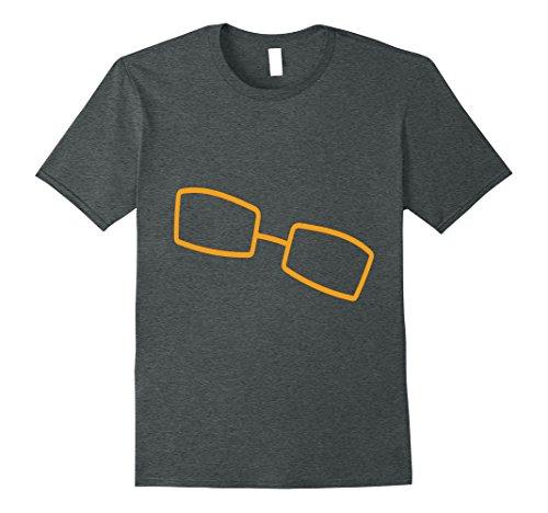 Mens eyeglasses shirt   eyewear shirt XL Dark - How Shape To Recognize Face