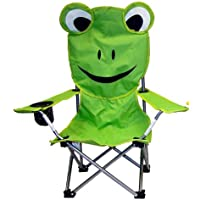 VMI Folding Chair for Kids, Frog Face