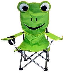 VMI Folding Chair for Kids, Frog Face