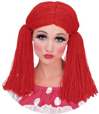 Rag Doll Girl Adult Womens Costumes (Rag Doll Wig Costume Accessory)
