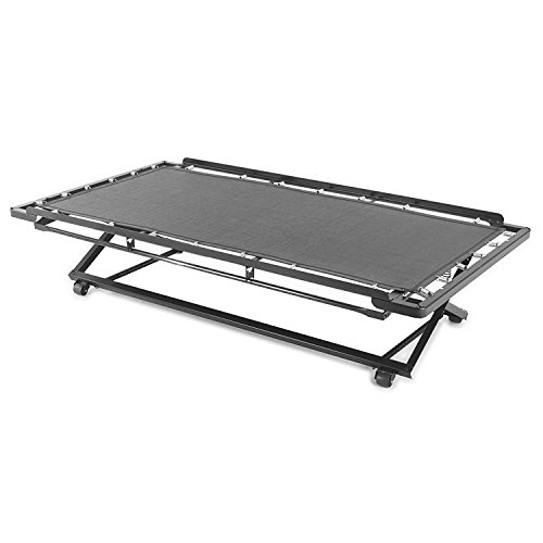 Pop Up Trundle - Leggett & Platt Consumer Products Group 39-Inch Poly Deck 66P Pop-Up Trundle for Daybeds with Dual Gravity Locks