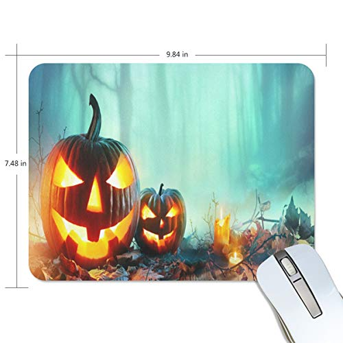 Mouse Pad Halloween in North County San Diego Gaming Mousepad 3D Small Thick Mouse Mat Black Marvellous Mouse Pads