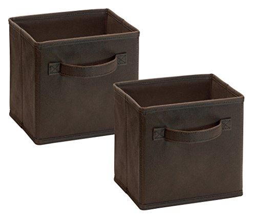 Closetmaid 1547 Cubeicals Mini Fabric Drawers, Canteen, 2-Pack by ClosetMaid