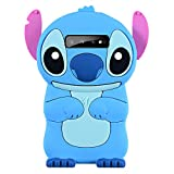 Blue Stitch Case for Samsung Galaxy S10 Plus,3D Cartoon Animal Cute Soft Silicone Rubber Protective Kawaii Funny Character Cover,Animated Fun Cool Skin Cases for Kids Teens Girls Guys(Samsung S10Plus)