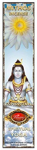Spiritual Yoga Mythos Meditation Incense Orange Blossom and Frankincense - F-034 3PK