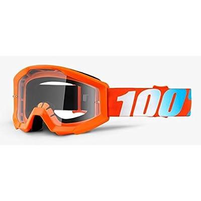 100% Strata Jr. Mx Goggle Orange - Clear