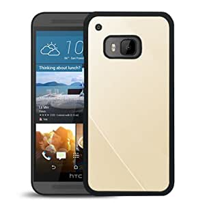 Simple Line Champaign Durable High Quality HTC ONE M9 Phone Case