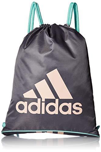 adidas Burst II Sackpack, Grey/Onix/Clear Mint/Clear Orange, One Size ()