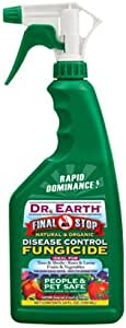 Dr. Earth 8007 Ready to Use Disease Control Fungicide, 24-Ounce