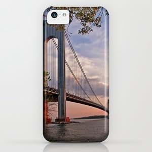 Society6 - Verrazano Narrows Bridge iPhone & iPod Case by Jean-Pierre Ducondi