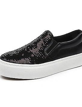 5fdfd398 ZQ gyht Zapatos de mujer - Tacón Plano - Creepers / Comfort / Punta Redonda  - Mocasines / Sin Cordones - Exterior / Casual - Tela ...