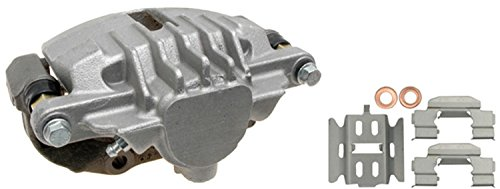 ACDelco 18FR1487 Professional Rear Driver Side Disc Brake Caliper Assembly without Pads (Friction Ready Non-Coated), Remanufactured ()