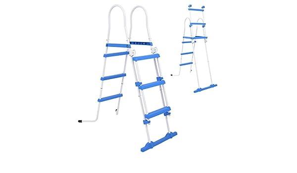 ghuanton Escalera de Seguridad de Piscina elevada 3 peldaños 107 cmCasa y jardín Piscina y SPA Accesorios para Piscinas y jacuzzis Escaleras y rampas de Piscina: Amazon.es: Hogar