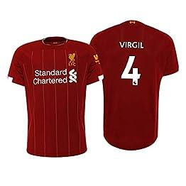 Maillot Virgil Van Dijk Liverpool FC Rojo 2019/20 - Femme