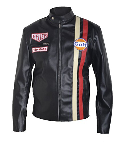 MSHC Heuer Gulf Vintage Sheep Leather Jacket (XL) Black