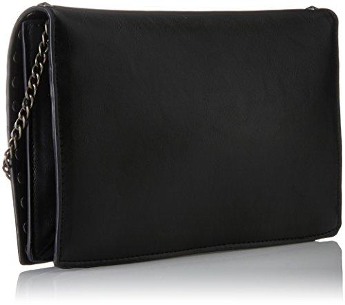 Marco Tozzi Damen 61004 Schultertasche, 27x18x2 cm Schwarz (Black)
