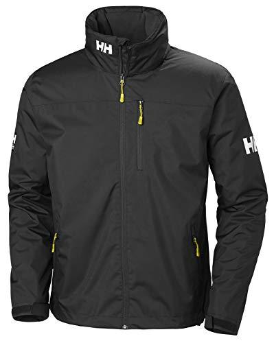 Helly Hansen Men's Crew Hooded Midlayer Jacket, Black, Large from Helly Hansen