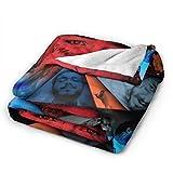 Austin Richard Post Ultra-Soft Micro Fleece Blanket Soft and Warm Digital Printed Blanket Flannel Malone Throw Blanket for Children/Adults