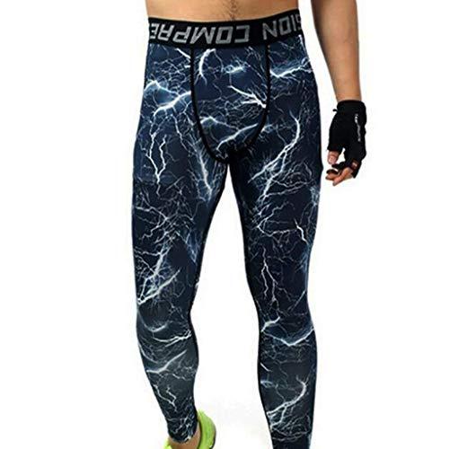 Le Fitness De Sport Style Printemps Pantalons Course Collants Simple Crystallly Homme Pour Blau Et Legging L'automne Décontractés D'extérieur gYOwqO5p
