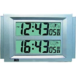 MFJ-121B Clock, Dual time zone, atomic