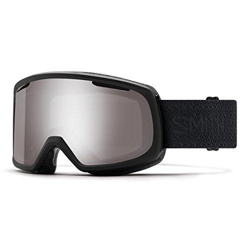 Smith Optics Riot Snow Goggles Black Mosaic with CP Sun Platinum Mirror and CP Yellow Lens (Riot Ski)