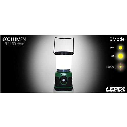 LEPEX Optima LED Camping Lantern Lamp 600 Lumen LPL-9708 by SSGSSK (Image #5)