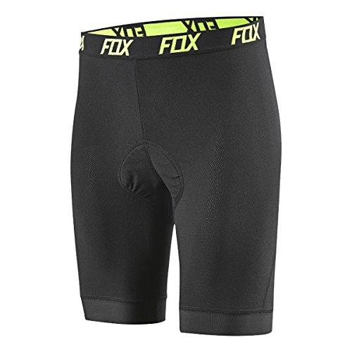 Fox Head Men's Evolution Comp Liner MTB Bike Shorts (Black, S)