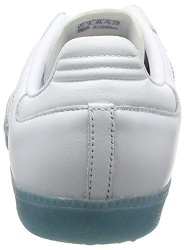 adidas Samba Low-Top Sneakers White/Bright Cyan NDnAc6R