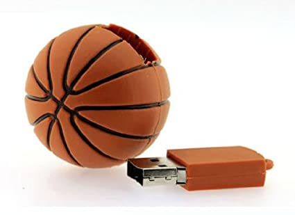 8GB 1 Piece baloncesto modelo USB Flash Drive 2,0-Bastón Pen ...