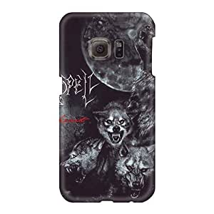 EricHowe Samsung Galaxy S6 Shock Absorption Hard Cell-phone Case Allow Personal Design HD Moonspell Band Morbid God Skin [nyX9016GHNQ]