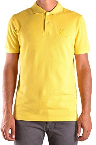 BURBERRY Men s Mcbi056237o Yellow Cotton Polo Shirt  Amazon.co.uk  Clothing 2e4d878c774a