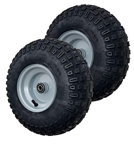 - GoPowerSports Tire and Wheel Assembly, go-Kart/ATV, 145/70-6 (Set of 2)