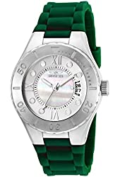 Invicta Women's 19393 Angel Quartz 3 Hand White Dial Watch