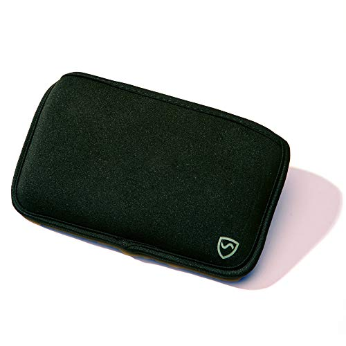 """SYB Horizontal Phone Pouch, EMF Protection Sleeve for Cell Phones up to 7"""" x 4'' by SYB"""