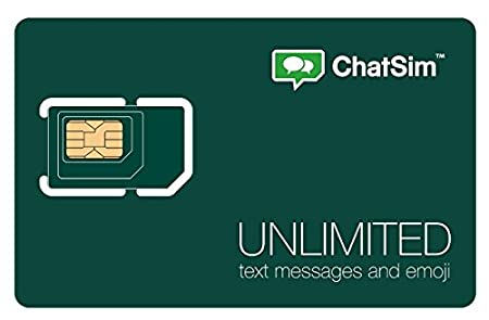 362d6c1b53a ChatSim Unlimited - Global SIM card to chat with: Amazon.co.uk: Electronics