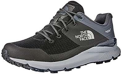 The North Face Men's Vals Wp Trekking & Hiking Shoes, TNF Black/Ebony Grey, 10 US