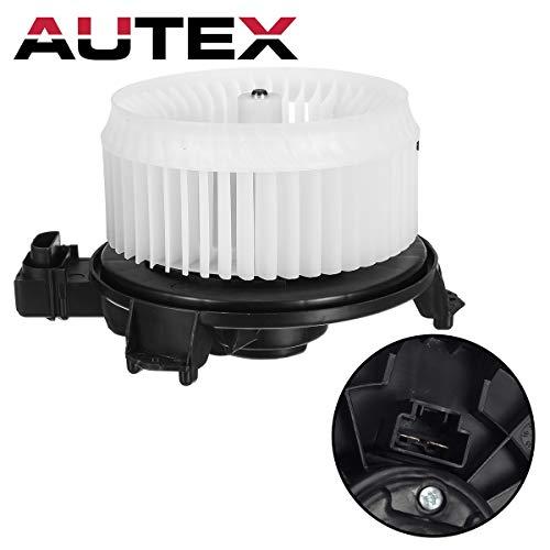 AUTEX HVAC Blower Motor Assembly Compatible with Toyota Corolla Matrix 2009-13,Toyota Rav4 06-16,Scion Xb 08-15,Scion Tc 09-16,Pontiac Vibe 09 10 Blower Motor Connector 700230 (Rav4 Blower Resistor)