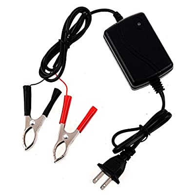 Motorcycle Battery Charger - TOOGOO(R) Motorcycle Car ATV 12V Portable Multi-mode Battery Charger Compact Maintainer