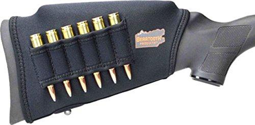 Beartooth Comb Raising Kit 2.0 - Neoprene Gun Stock Sleeve + (5) Hi-density Foam Inserts - RIFLE MODEL (Black)
