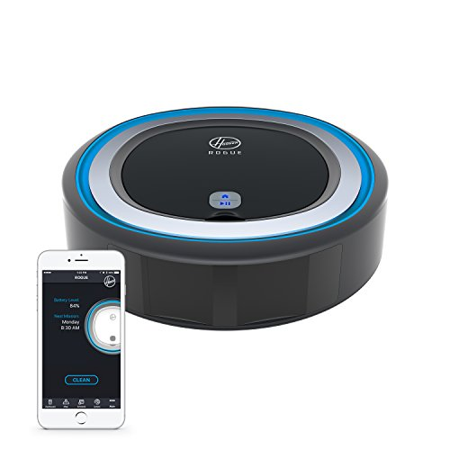 Hoover ROGUE 970 Smart Robot Vacuum Cleaner, Alexa and Google Home Voice Control, Wi-Fi Connected Robotic Floor Cleaner, BH70970 by Hoover